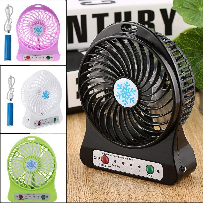 868 Преносим мини вентилатор с USB зареждане вентилатор за бюро стая компютър