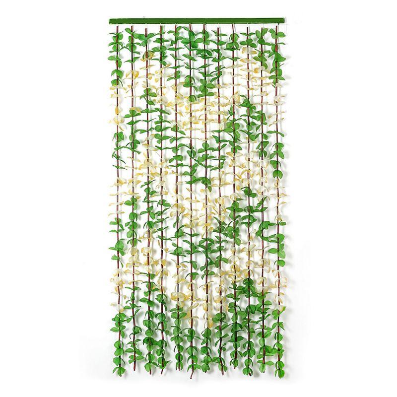 2305 Декоративна завеса за врата листа ресни за врата листа 90x180cm