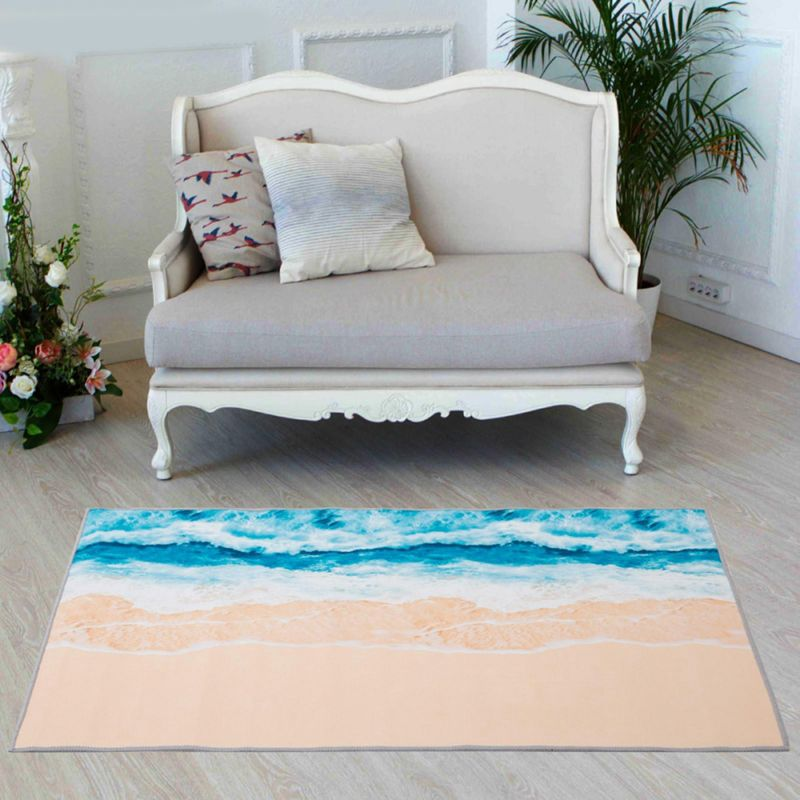 2339 Постелка за под килимче Море, 120x80cm