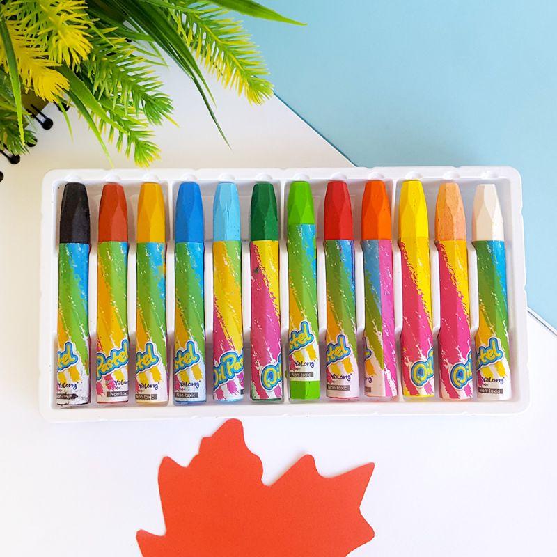2391 Маслени пастели за рисуване, 12 цвята