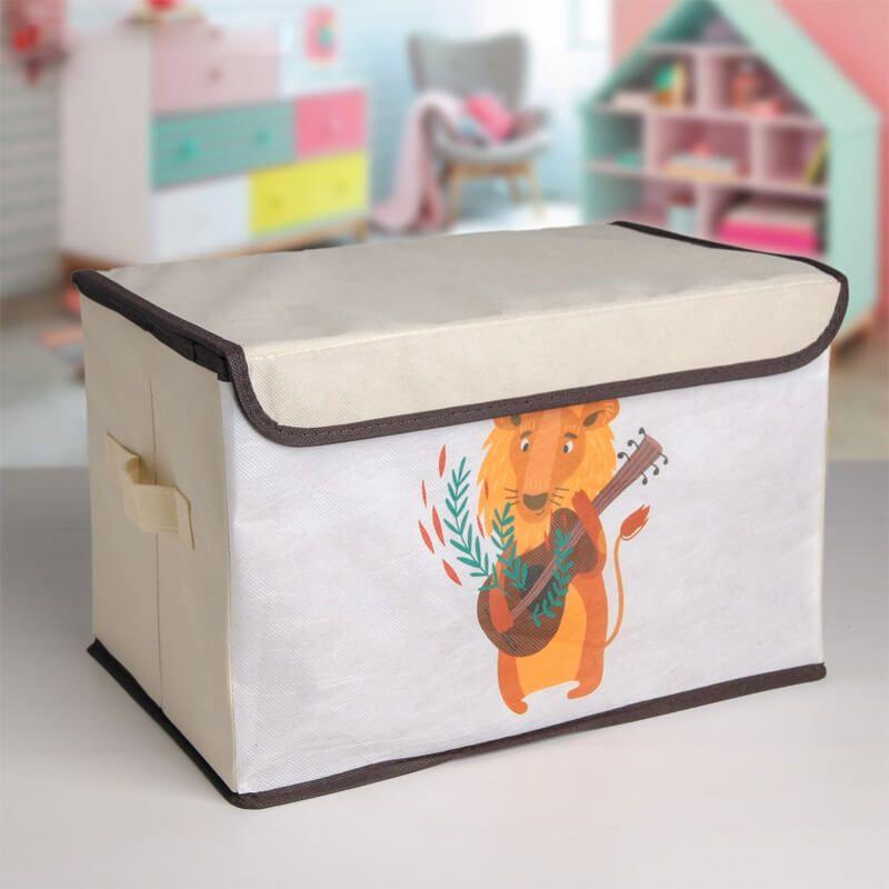 2402 Сгъваема кутия за съхранение Музикален лъв