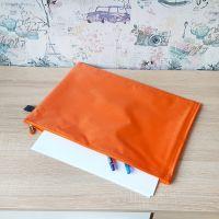 2320 Текстилна папка с цип А4, промазан плат