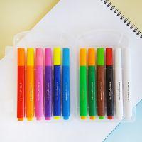 2399 Магически флумастери сменящи цвета си, 12 цвята в куфарче